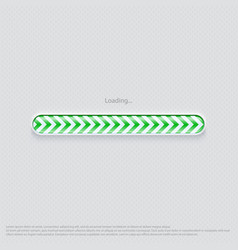 Loading web design green vector