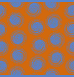 polka dot seamless pattern with abstract circles vector image