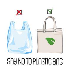 stop plastic earth global ecological environmental vector image