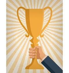 Business achievement vector image