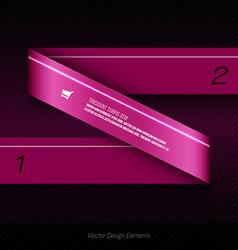 infographics design for presentation banner web vector image vector image