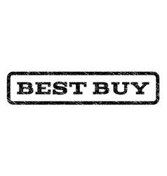 best buy watermark stamp vector image vector image