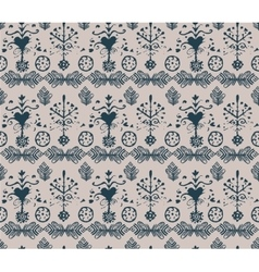absatrct vintage seamless pattern vector image