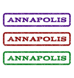Annapolis watermark stamp vector