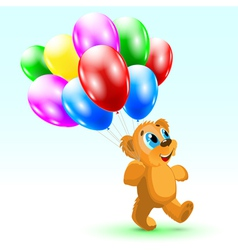 Bear Birthday vector