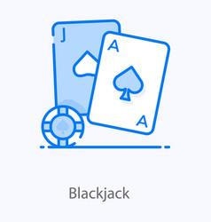 Blackjack vector