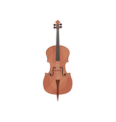 Cello string musical instrument vector