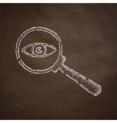 Detective icon vector