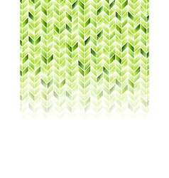 Green shiny geometric hi-tech background vector