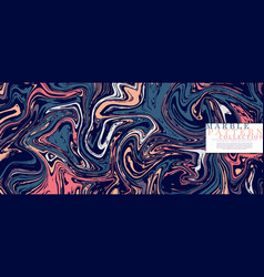 Marble pattern collection abstract pop art vector