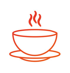 Menu restaurant soup bowl dish hot dinner vector