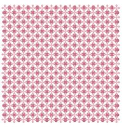 pink geometric seamless pattern image vector image