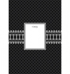 frame poster vector image vector image