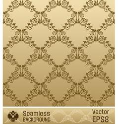 wallpaper ornament vintage vector image vector image
