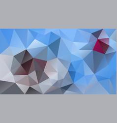 abstract irregular polygonal background blue gray vector image