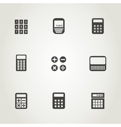 Calculator an icon vector image