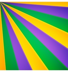 Green yellow and violet rays carnival vector