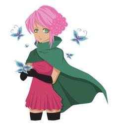 Mangagirl vector