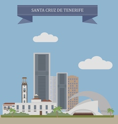 Tenerife vector