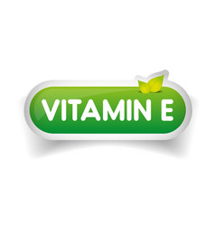 Vitamin E label vector