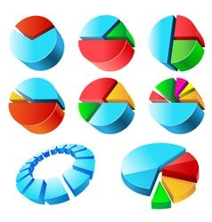 Charts set vector
