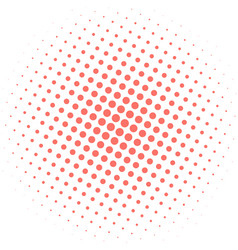 Abstract background with halftone effect in vector
