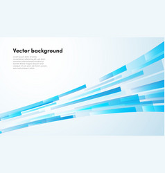 abstract blue stirpes background business vector image