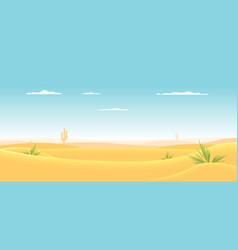 deep western desert vector image