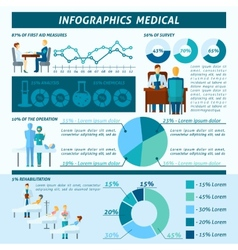 Doctor Infographic Set vector