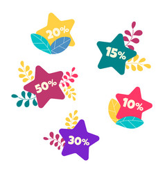 hot sales during the discount period vector image