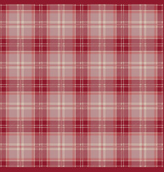 red tablecloth tartan plaid seamless pattern vector image
