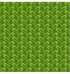 Seamless abstract leaves pattern vector image
