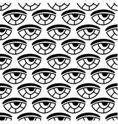 seamless eyes pattern pattern for textile vector image