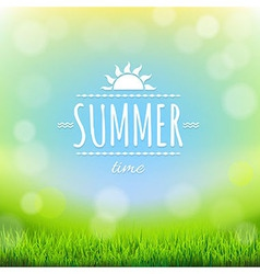 Summer Discount Banner vector image
