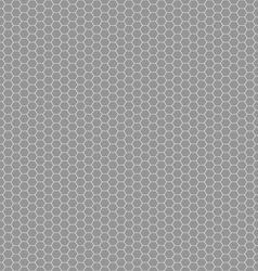 hexagon seamless pattern vector image