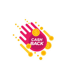 Cashback offer vector