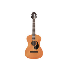 classical guitar musical instrument vector image