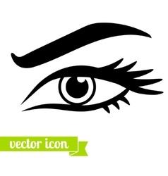 Eye icon 3 vector