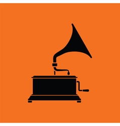 Gramophone icon vector image