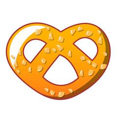 heart bakery icon cartoon style vector image