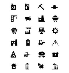 Industrial icons 2 vector