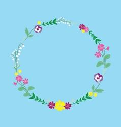 May wreath vector