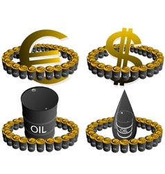 Petroleum business-7 vector image vector image