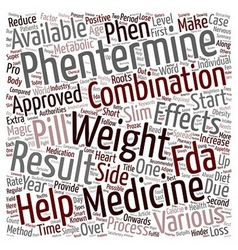 Phentermine And Healthy Weight Loss text vector