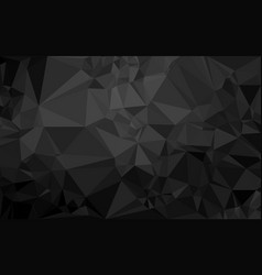 polygon dark background vector image