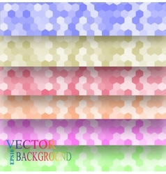 Seamless texture hex grid vector
