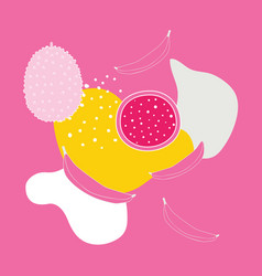 stylish colorful background with abstract vector image