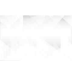 triangle white vector image