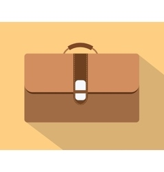 flat leather bags vector image