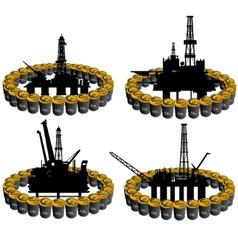 Petroleum business-2 vector image